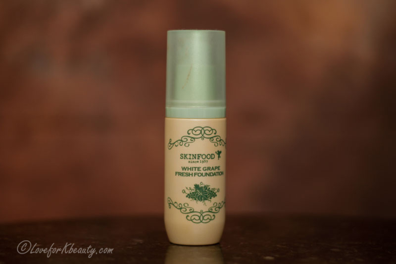 Skinfood White grape fresh foundation