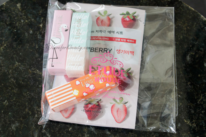 Etude House pink bird march box