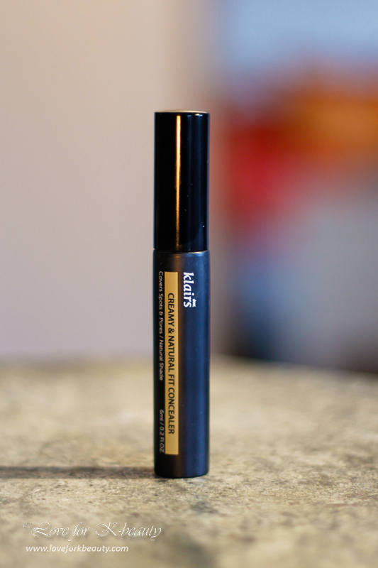 Klairs creamy and natural fit concealer