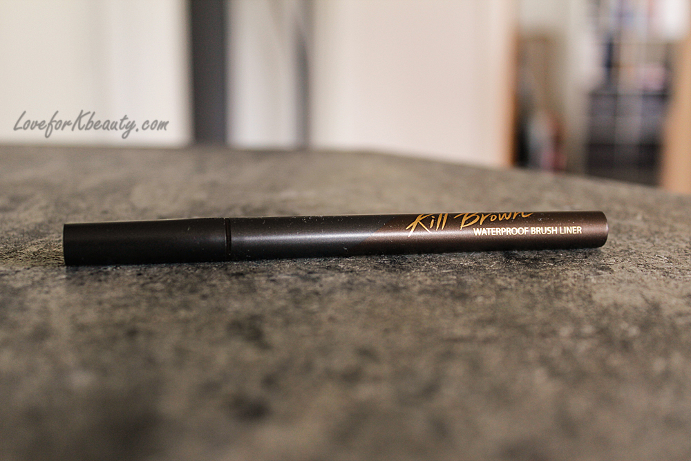 Clio kill brown brush liner
