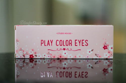 Etude House Play Color Eyes in Cherry Blossom