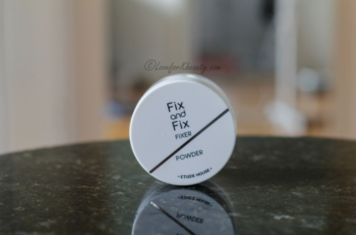 Etude House fix and fix fixer powder