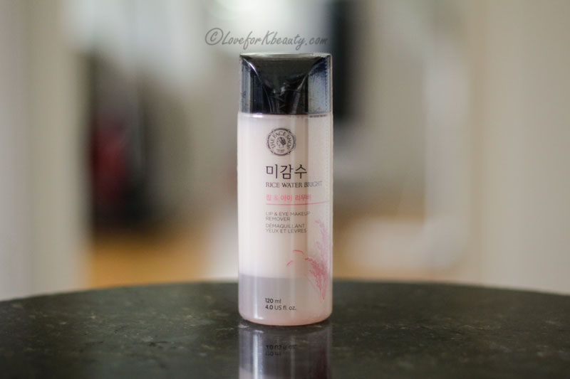 The Face Shop Rice Water Bright Lip and Eye Remover