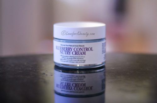 Chamos Blueberry Control Nutry cream