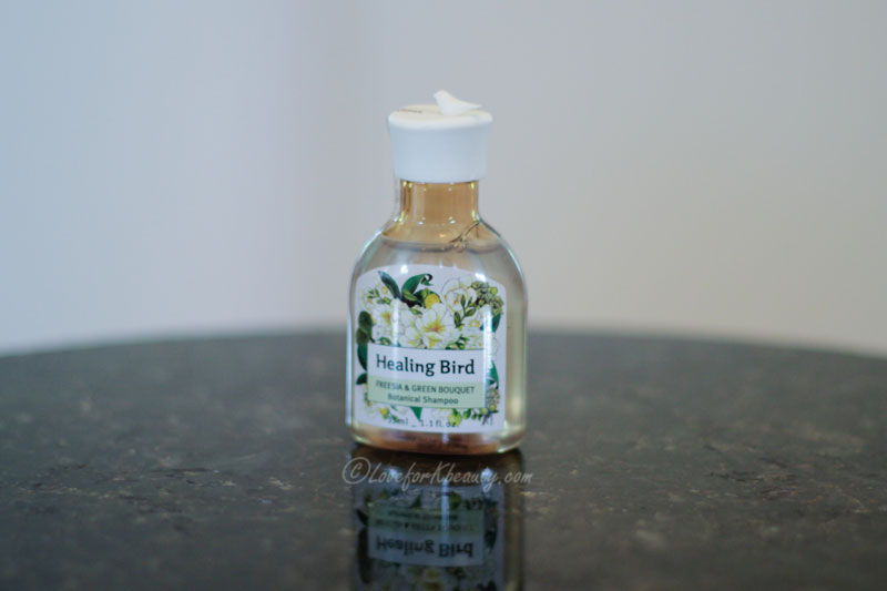 Clio Healing bird shampoo
