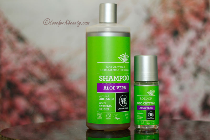 Haul Urtekram Shampoo aloe and Crystal deo aloe