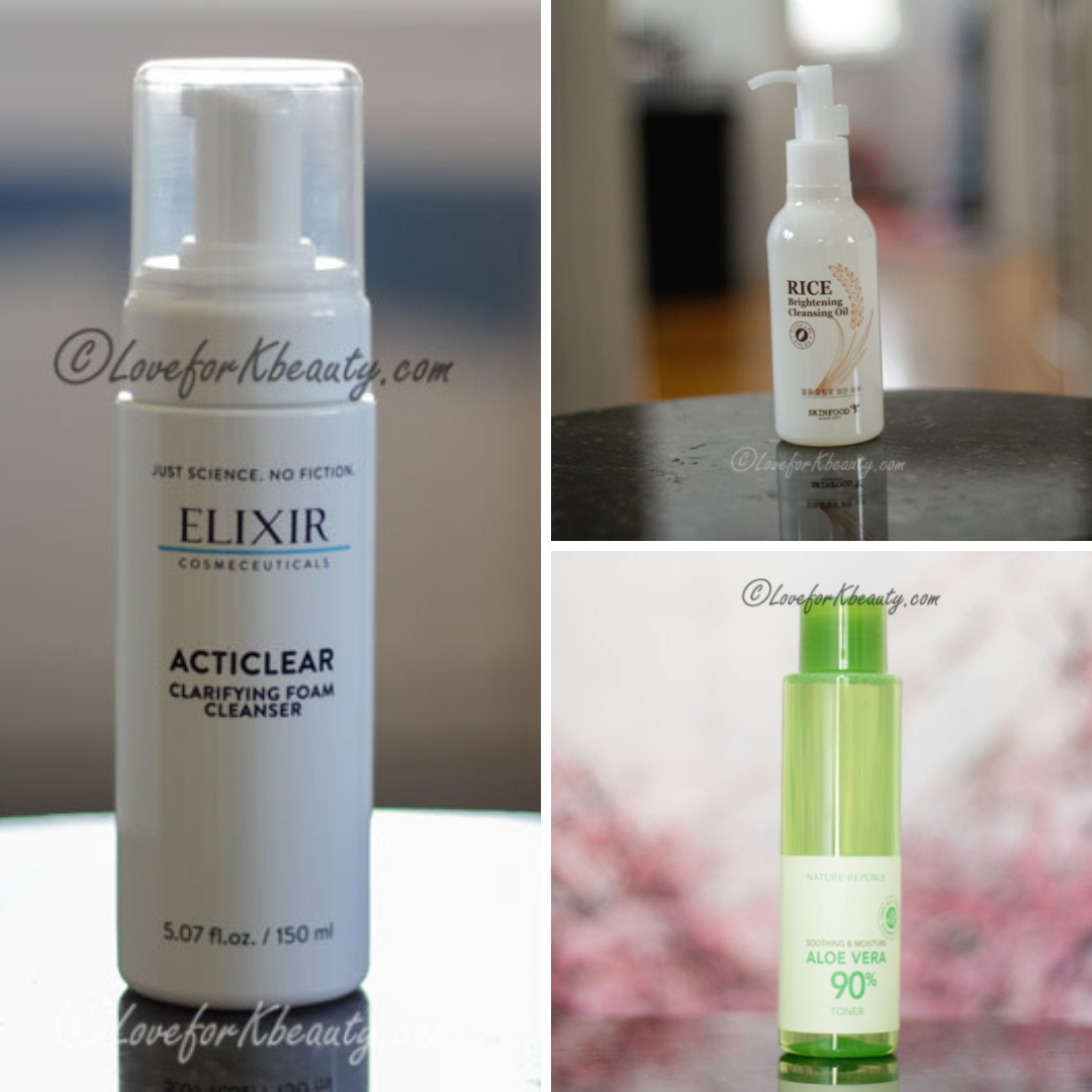Cleanser and toner