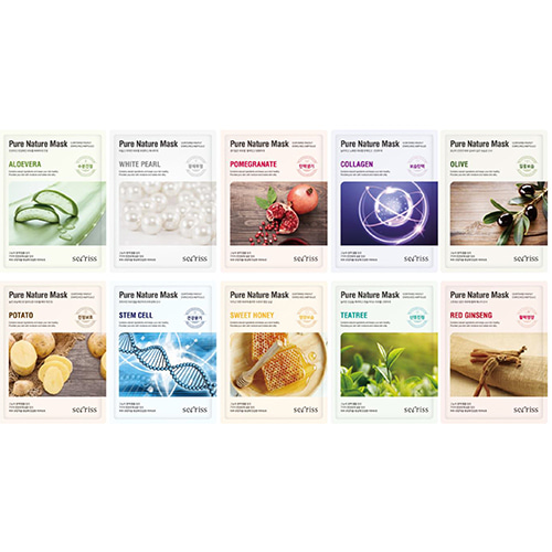 Sheet masks from Secriss. Picture from Jolse.com