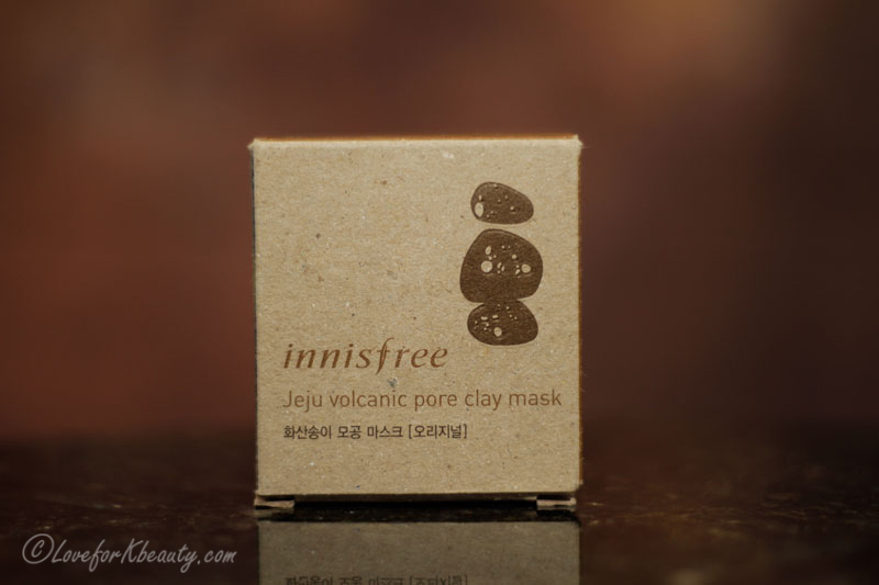 Innisfree Jeju volcanic pore clay mask: