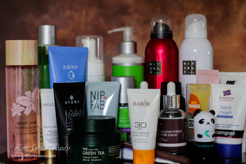 Empties July 2019