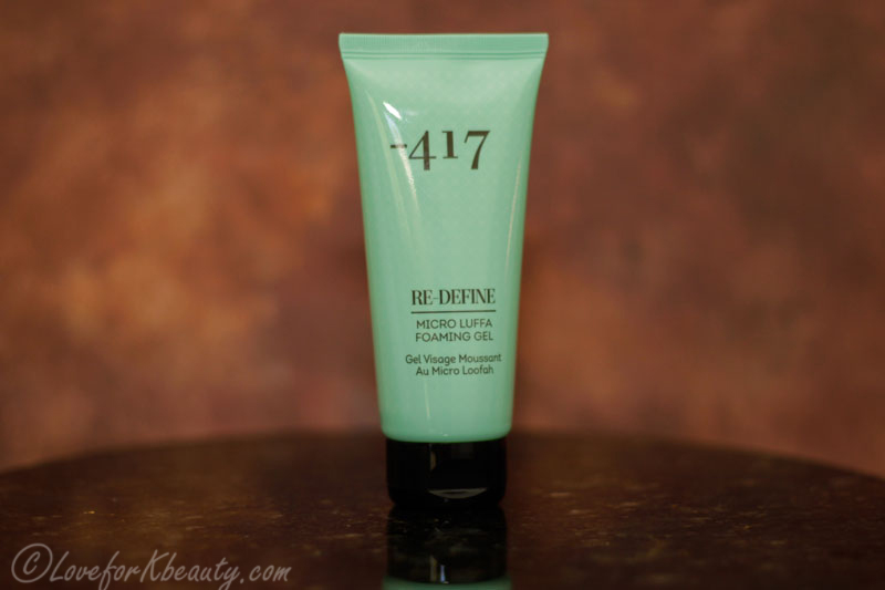 417 Facial micro luffa foaming gel