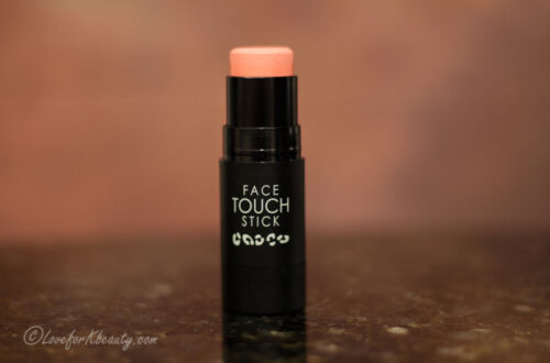 Hope girl face touch stick