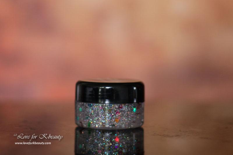 Popup Beauty Peel Off Glitter Gel Mask
