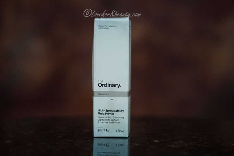The ordinary high spreadibiltiy fluid primer