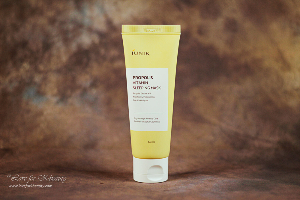 IUNIK propolis vitamin sleeping mask