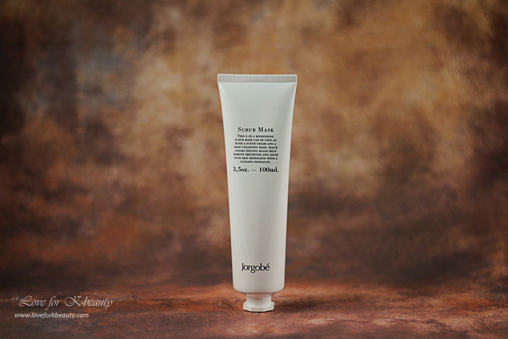 Jordgobé refreshing Scrub mask